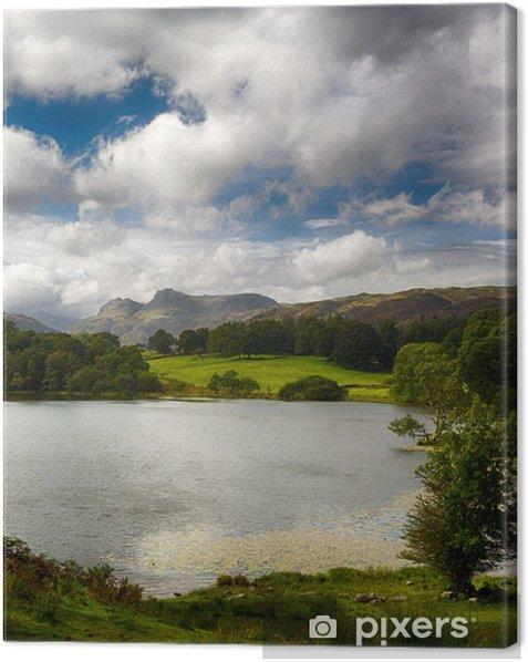 Leinwandbild Loughrigg Tarn im Lake District - Europa