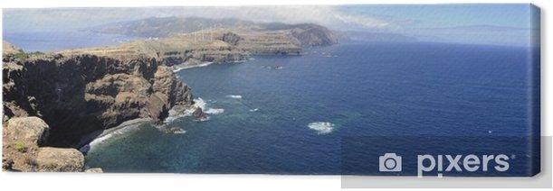 Leinwandbild Madeira Island: Pointe de São Lourenço - Europa