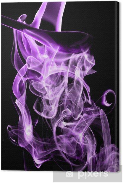 Leinwandbild Magenta Rauch - Themen