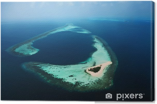 Leinwandbild Malediven Luft 3 - Urlaub