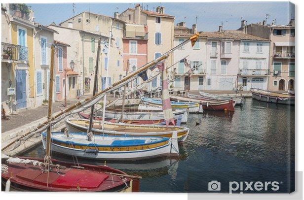 Leinwandbild Martigues (Provence, Frankreich) - Stadt