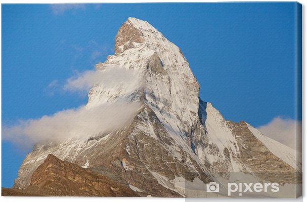 Leinwandbild Matterhorn - Europa