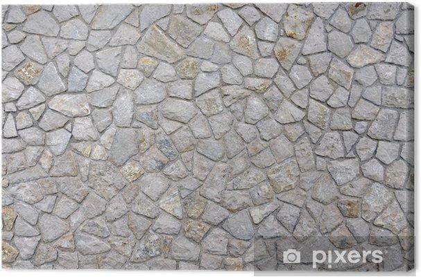 Leinwandbild Mauersteine - Texturen