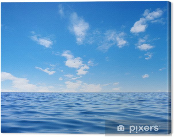 Leinwandbild Meer - Wasser