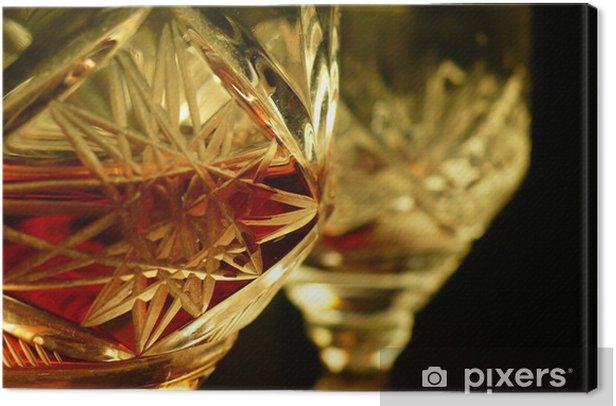 Leinwandbild Mein Wein - Alkohol