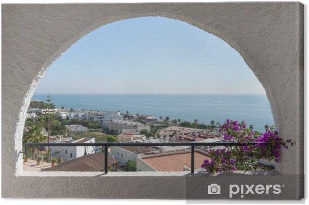 Leinwandbild Mojacar Playa, Almeria, Spanien - Themen