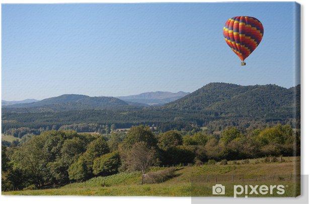 Leinwandbild Montgolfiere - Luftverkehr