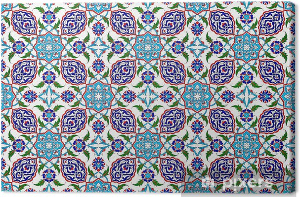 Leinwandbild Mosaik Fliesen Muster