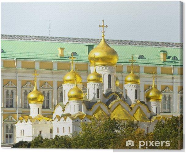 Leinwandbild Moskau, Verkündigung Kathedrale von Kreml - Asiatische Städte