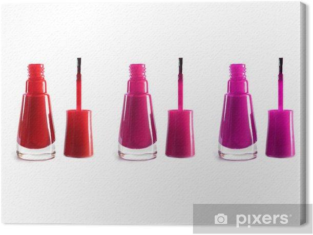 Leinwandbild Nagellack - Beauty und Körperpflege