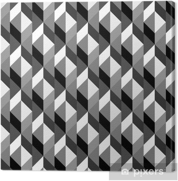 Leinwandbild Nahtlose geometrische Muster. - Kunst und Gestaltung