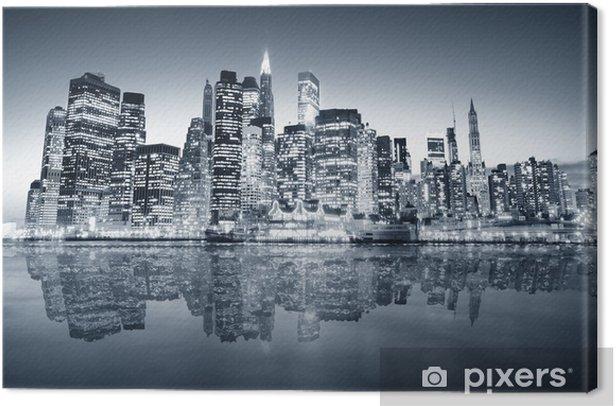 Leinwandbild New york manhattan -