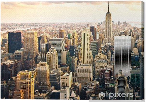 leinwandbild new york skyline pixers wir leben um zu ver ndern. Black Bedroom Furniture Sets. Home Design Ideas