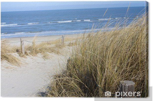 Leinwandbild Nordsee Strand - Bereich