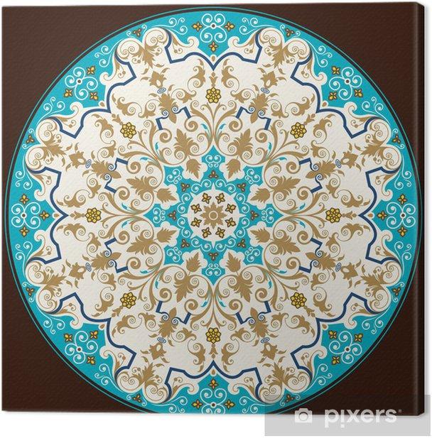 Leinwandbild Novara Klassische Ornament - Europa