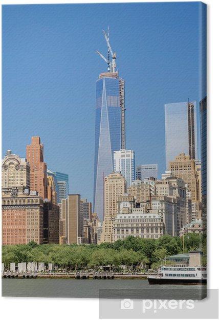 Leinwandbild One World Trade Center Auch Bekannt Als Freedom Tower