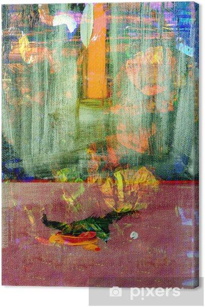 Leinwandbild Original-Gemälde - Kunst und Gestaltung