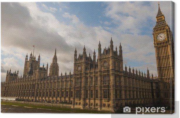 Leinwandbild Palace of Westminster (Houses of Parliament) in London - Themen