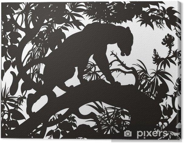 Leinwandbild Panther - Säugetiere