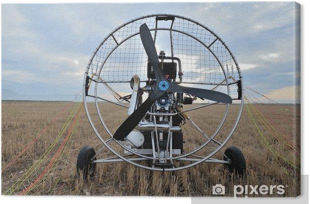 Leinwandbild Paramotor - Luftverkehr