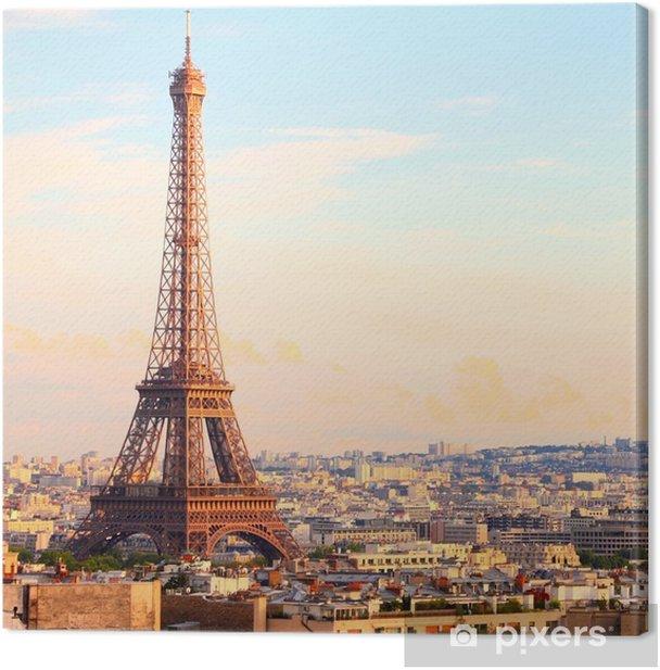 Leinwandbild Paris - Für Esszimmer