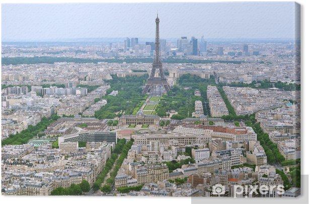 Leinwandbild Paris - Europäische Städte