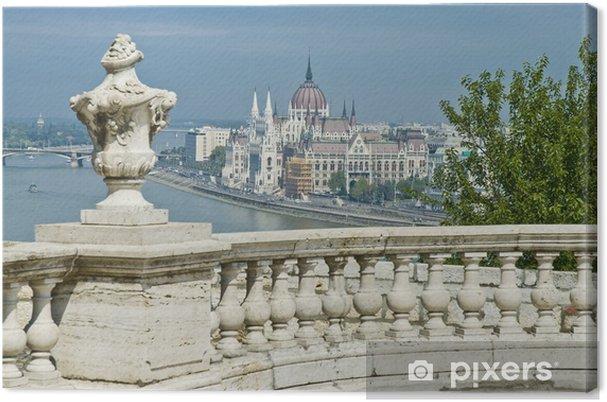 Leinwandbild Parlamentsgebäude in Budapest, Ungarn - Europa