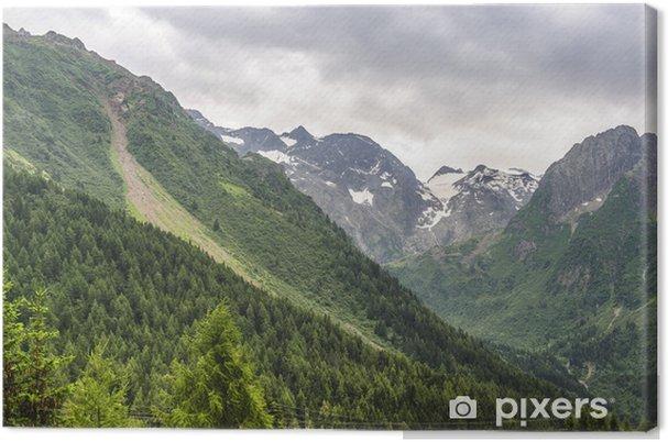 Leinwandbild Passo del Tonale - Europa