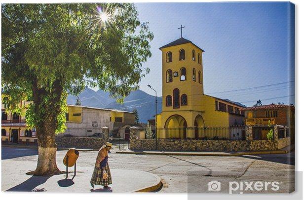 Leinwandbild Peru - Themen