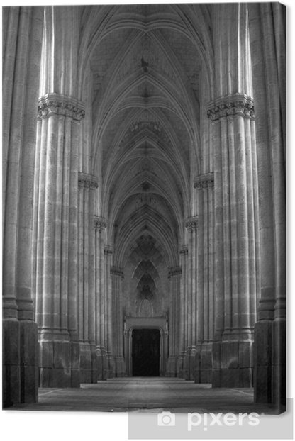 Leinwandbild Pillared Flur - Säulen und Bogenausbau