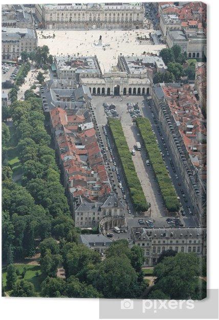 Leinwandbild Place Stanislas - Place de la carièrre - Urlaub