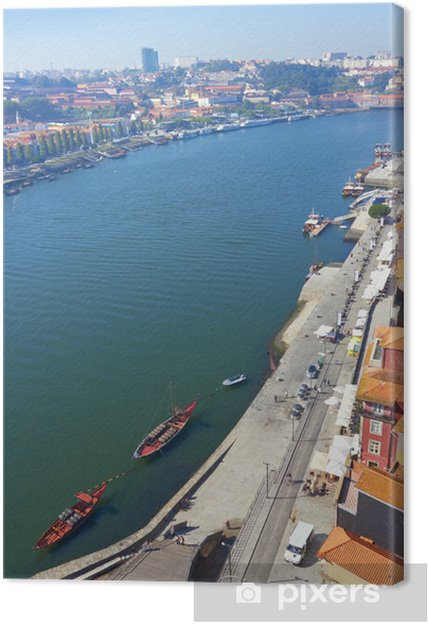 Leinwandbild Porto portugal - Europa