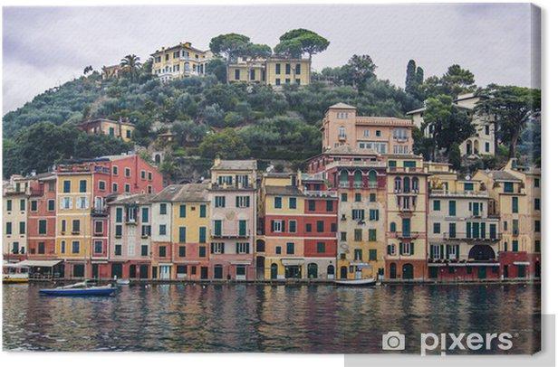 Leinwandbild Portofino - Europa