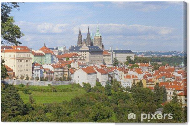 Leinwandbild Prag - Prager Burg und St. Vitus Kathedrale - Europäische Städte