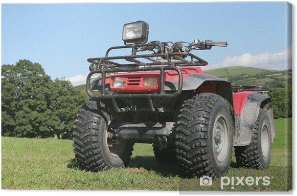 Leinwandbild Quad-Bike - Landwirtschaft