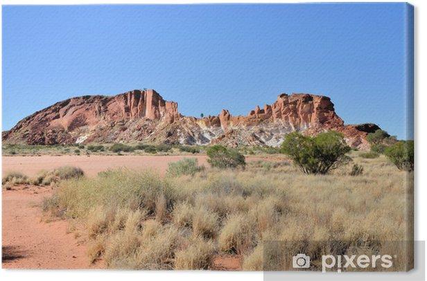 Leinwandbild Rainbow Valley, Northern Territory - Ozeanien