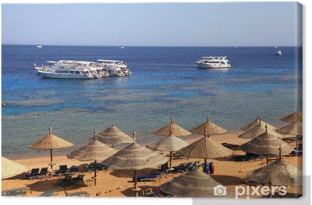 Leinwandbild Red Sea Strand, Sharm el Sheikh, Ägypten - Urlaub
