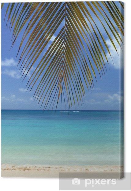 Leinwandbild Reihe von Kochsalzlösung (Martinique) - Inseln