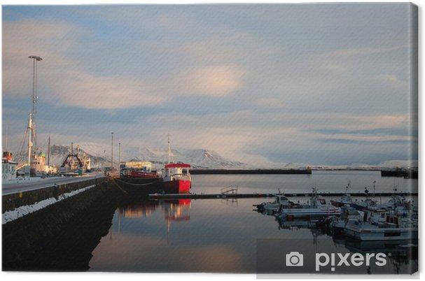 Leinwandbild Reykjavik - Urlaub