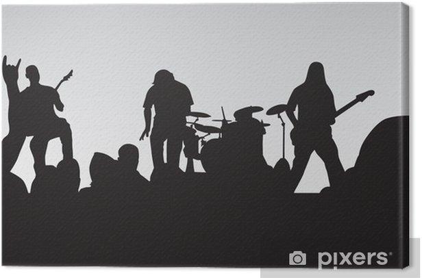 Leinwandbild Rock-Konzert 4 - Rock