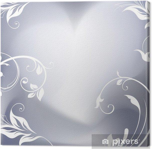 Leinwandbild Romantische Hintergrund - Fröhlichkeit