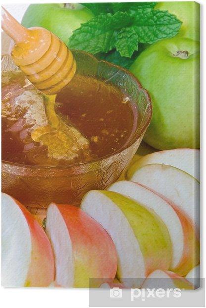 Leinwandbild Rosch Haschana - Gerichte