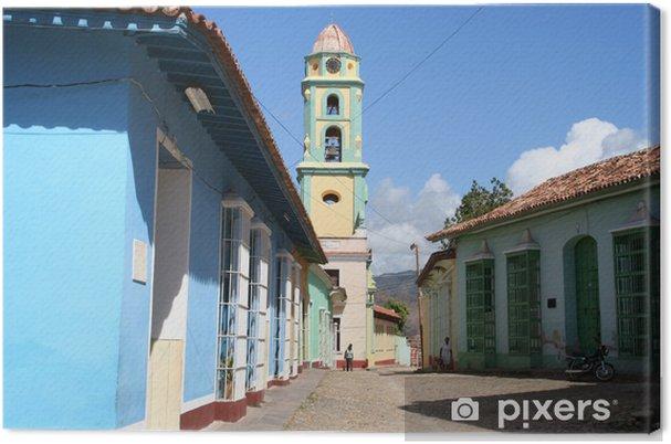 Leinwandbild Ruelle à Trinidad - Kuba - Themen