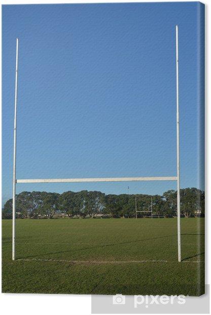 Leinwandbild Rugby-Feld - Spiele und Wettbewerbe