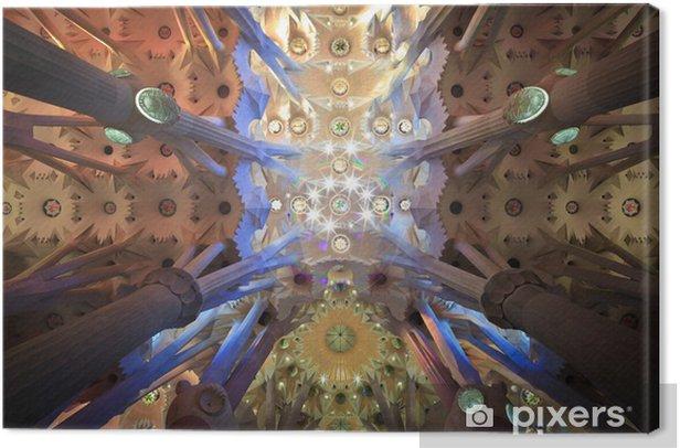 Leinwandbild Sagrada familia - Denkmäler