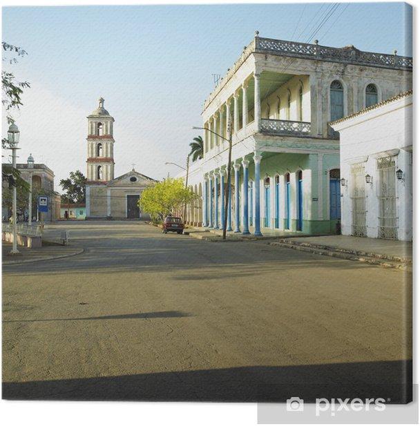 Leinwandbild San Juan Bautista de Remedios Kirche, Remedios, Kuba - Amerika