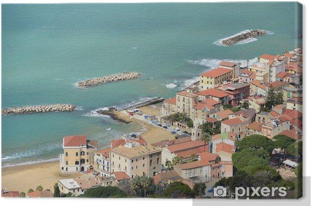 Leinwandbild Santa Maria Castellabate Blick - Urlaub
