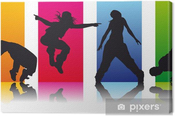 Leinwandbild Satz 2 Breakdancer - Einzelsportarten