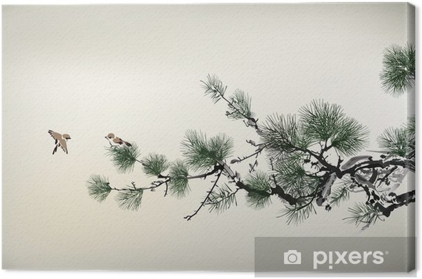 Leinwandbild Schmerzen Baum - Bäume