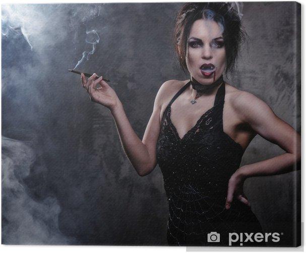 schöne, schwarze frauen rauchen
